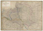 Carte de l'ancienne Pologne avec les délimitations actuelles  A. H. Dufour ; F. W. 1863