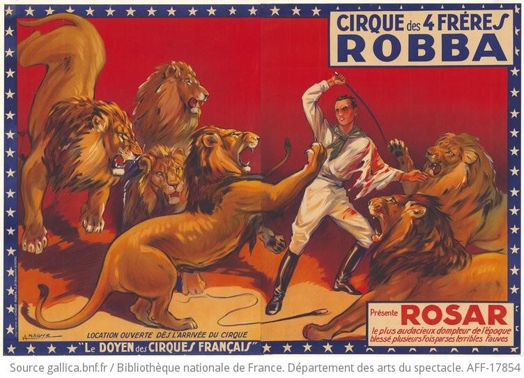 Affiches Anciennes De Cirque Francais Fairesinnare Over Blog Com