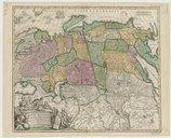 Bildung aus Gallica über Johann Baptist Homann (1663-1724)