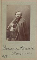 Image from Gallica about Pierre Alexis de Ponson du Terrail (1829-1871)