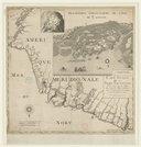 Carte nouvelle de la France Equinoctiale  J.-A. le Febvre de la Barre. 1666