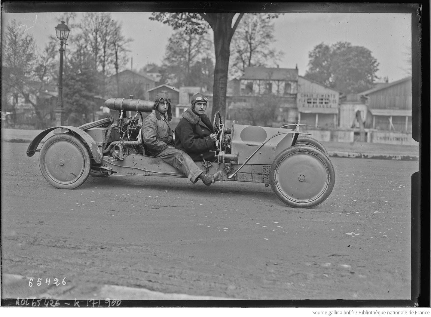 ELFE cyclecar F1