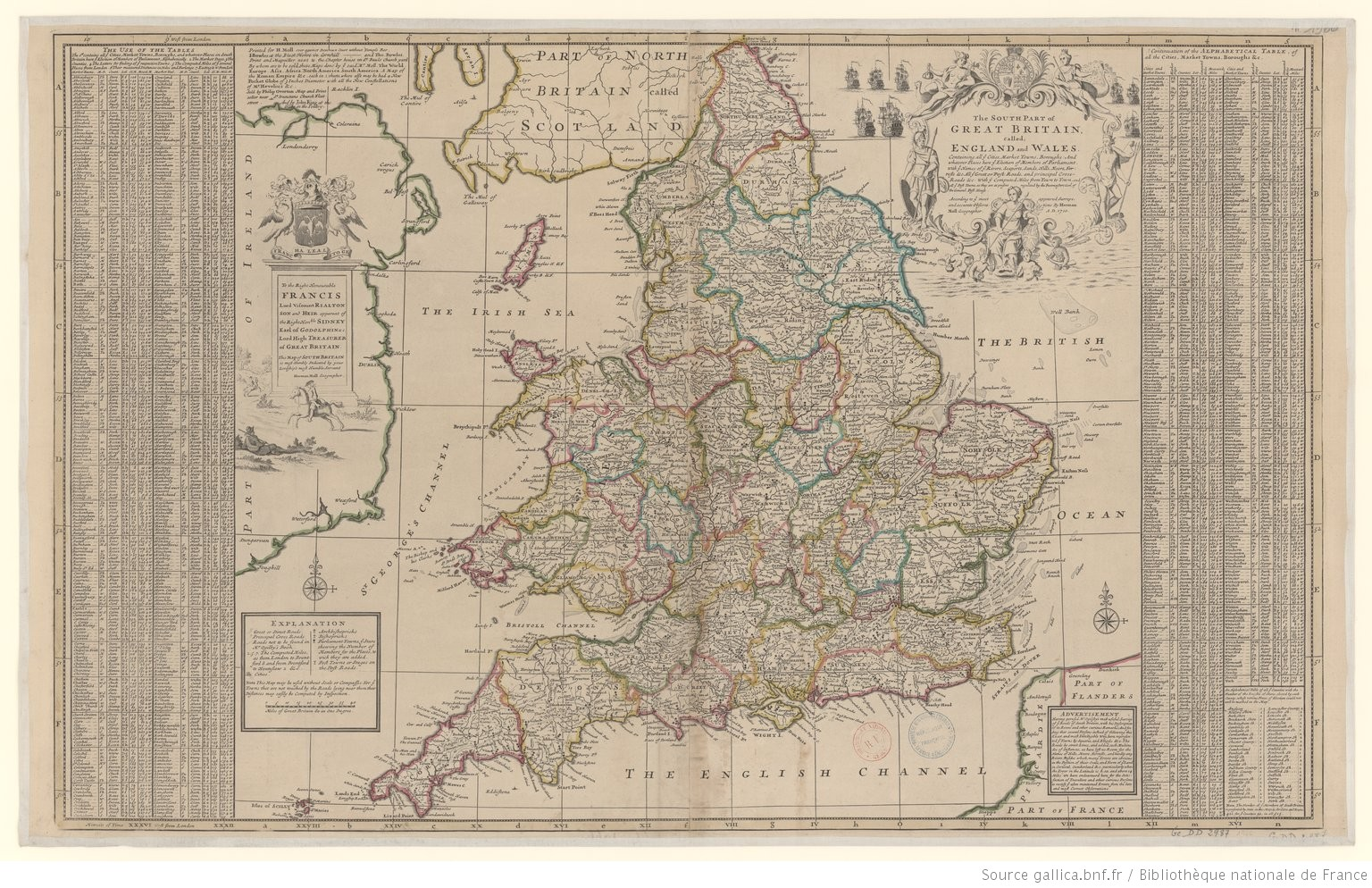 The South Part of Great Britain, called England and Wales