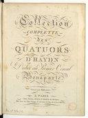 Illustration de la page Quatuors. Cordes. Hob III provenant de Wikipedia