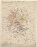Bildung aus Gallica über Reims (Marne, France)