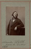 Image from Gallica about Alexandre Weill (1811-1899)