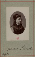 Image from Gallica about George Sand (1804-1876)