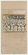 Dessins de Charles Garnier pour l'exposition universelle de 1889
