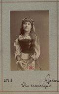 Illustration de la page La fille du tambour-major. Acte 1. Tout en tirant mon aiguille provenant de Wikipedia