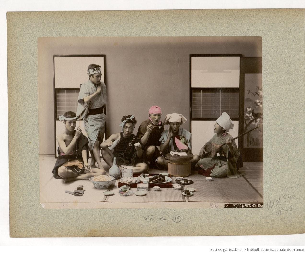 Fig. 47. 2. Work men's holiday / Kinbei Kusakabe;
