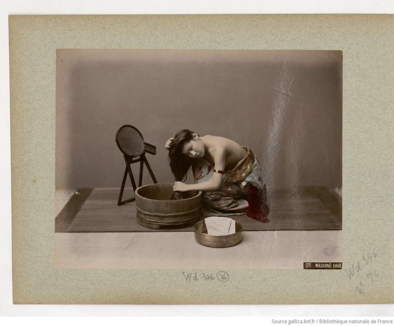 Fig. 76. 171 Washing hair;
