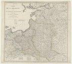 Carte de la Pologne et de la partie de la Russie d'Europe comprise entre Vilna, Moscou et St Petersbourg  E. Mentelle ;  P. G. Chanlaire. 1812