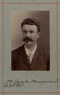Image from Gallica about Guy de Maupassant (1850-1893)