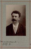 Illustration de la page Guy de Maupassant (1850-1893) provenant du document numerisé de Gallica
