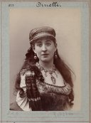 Image from Gallica about Mademoiselle Dinelli (18..-1894)