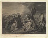 Image from Gallica about THE DEATH OF GENERAL WOLFE