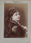 Illustration de la page Léocadie Feydeau (1838-1924) provenant de Wikipedia