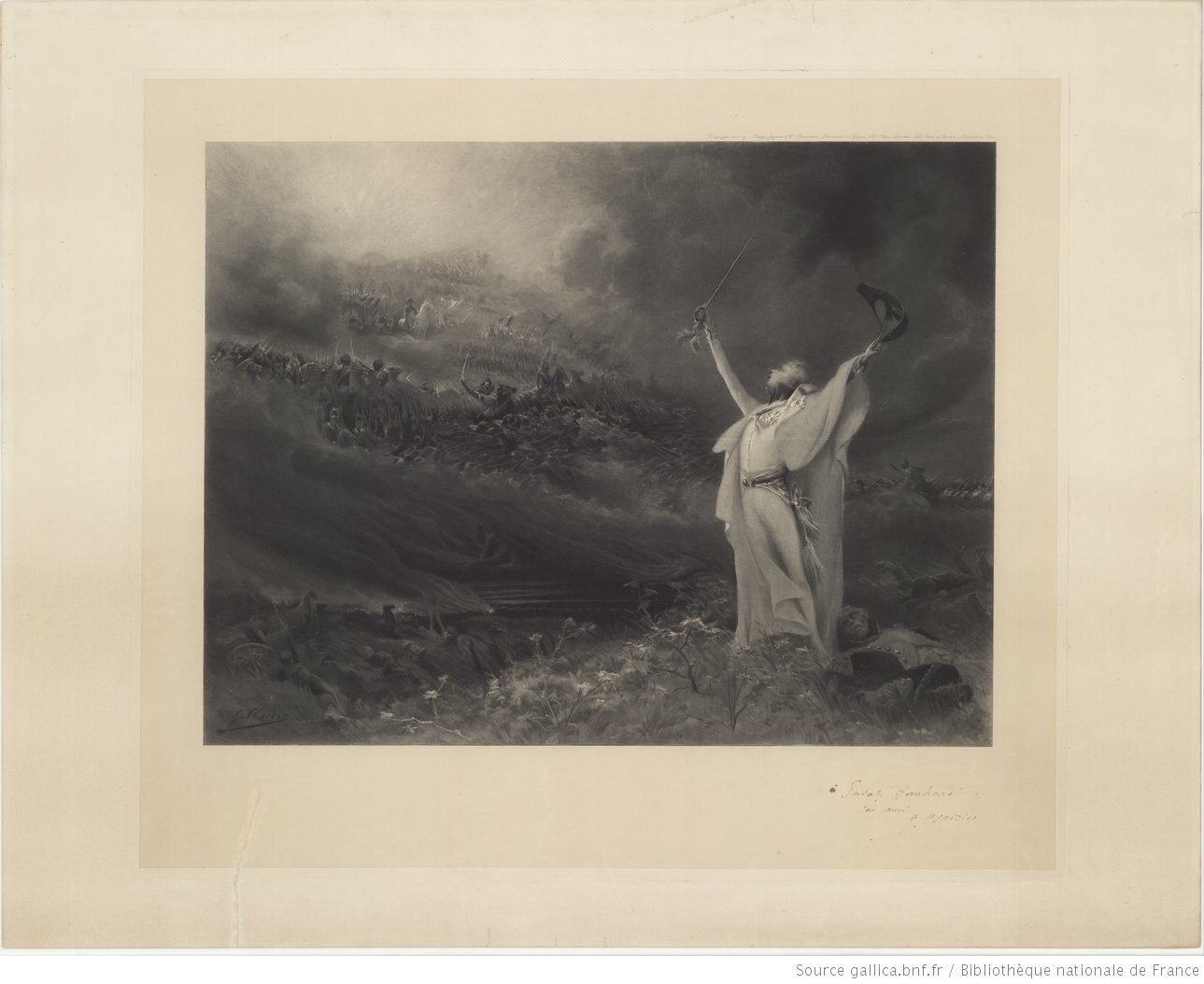 [Sarah Bernhardt dans