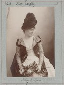 Illustration de la page Lillie Langtry (1853-1929) provenant de Wikipedia