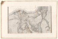 Carte topographique de l'Égypte et de plusieurs parties des pays limitrophes large pendant l'expédition de l'armée française  P. Jacotin. 1818