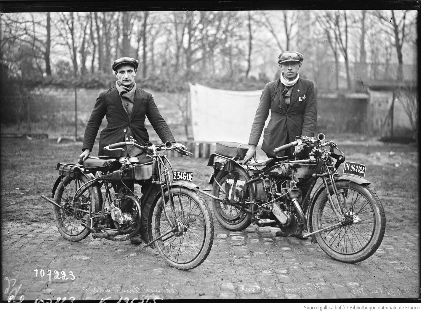 motos photos d'époque F1