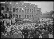 Bildung aus Gallica über Rome (Italie) -- Colosseo