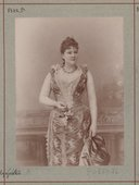 Me Galzynski <br> Atelier Nadar. 1875-1895