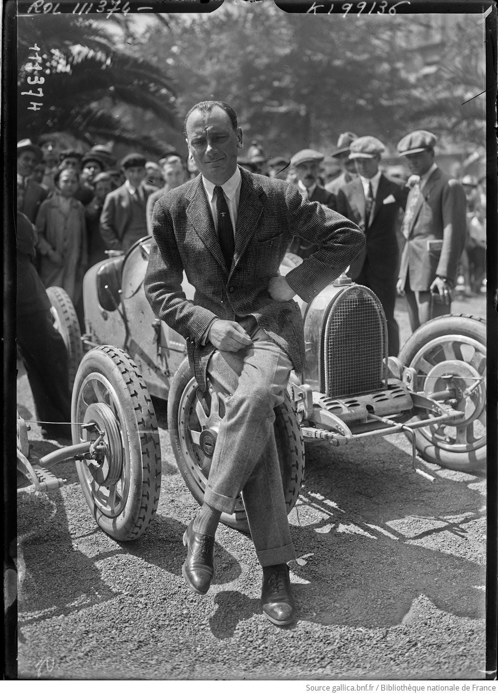 Pilotes cyclecars, voiturettes et grand sport F1