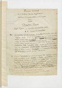 Grammaire égyptienne, papiers de J.-Fr. Champollion le jeune  XVIII-XIX