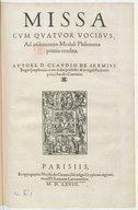 Illustration de la page Claudin de Sermisy (1490?-1562) provenant de Wikipedia