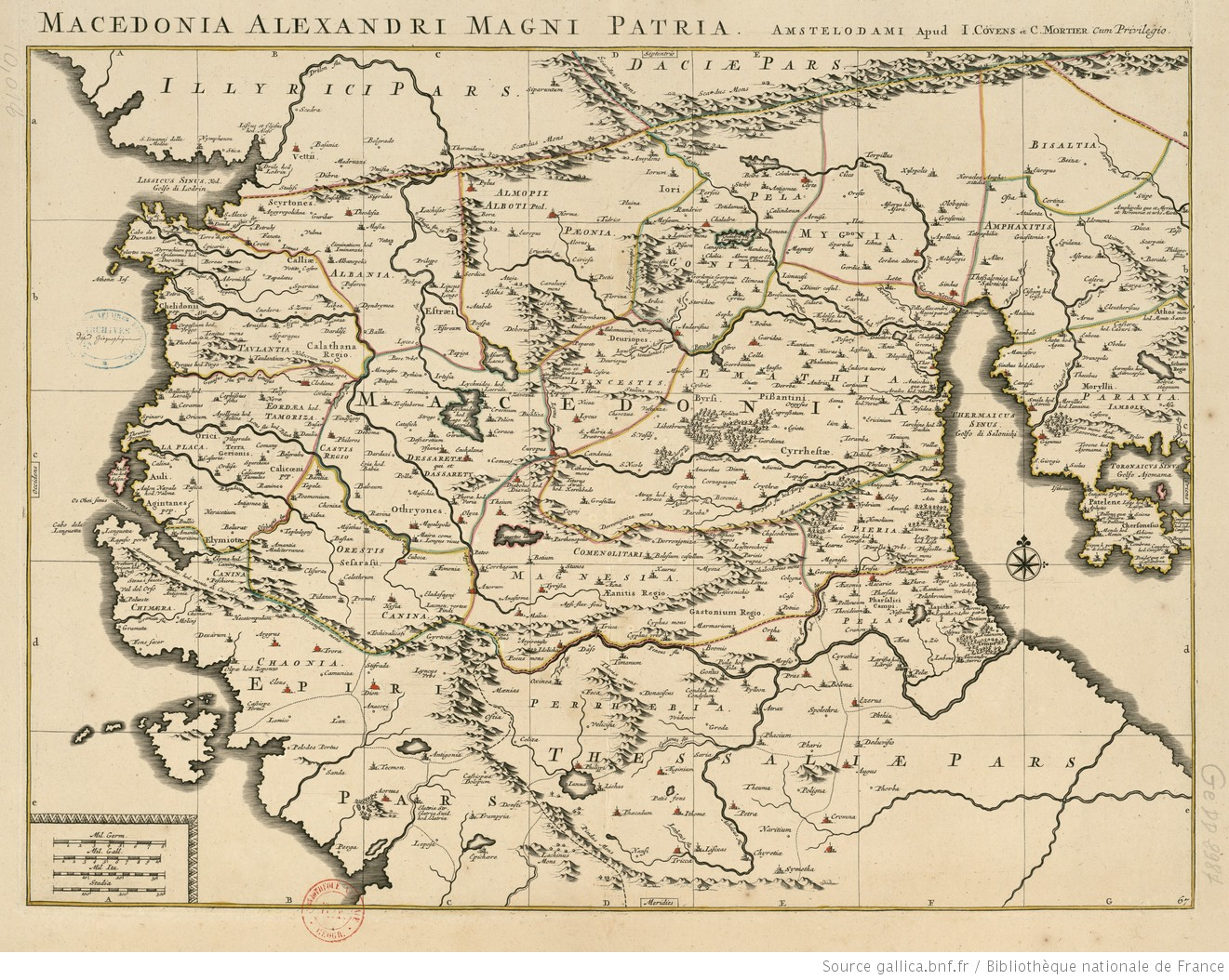 Macedonia Alexandri Magni patria / [I. Laurenbergio] - 1