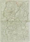 Les Estats de Savoye et de Piémont. Le Dauphiné, la Bresse, partie du Lionnois et de la Provence Dediéz au Roy / Par... Hubert Jaillot, ...