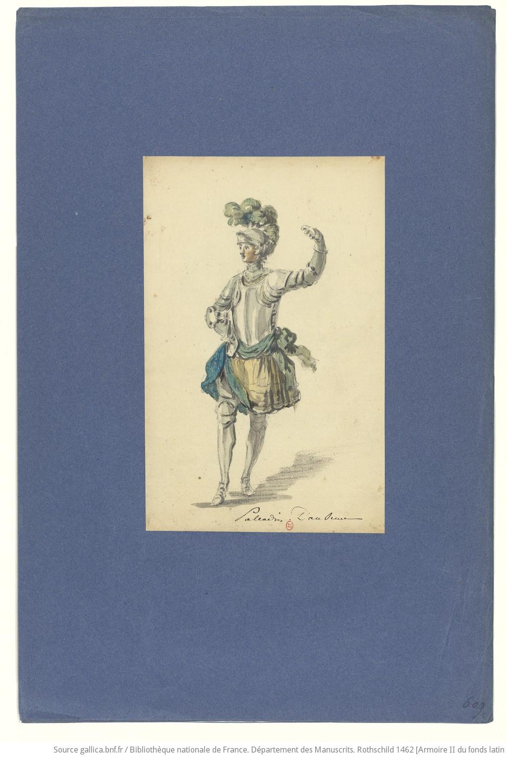 Les habits d'opéra au XVIIIe siècle F40