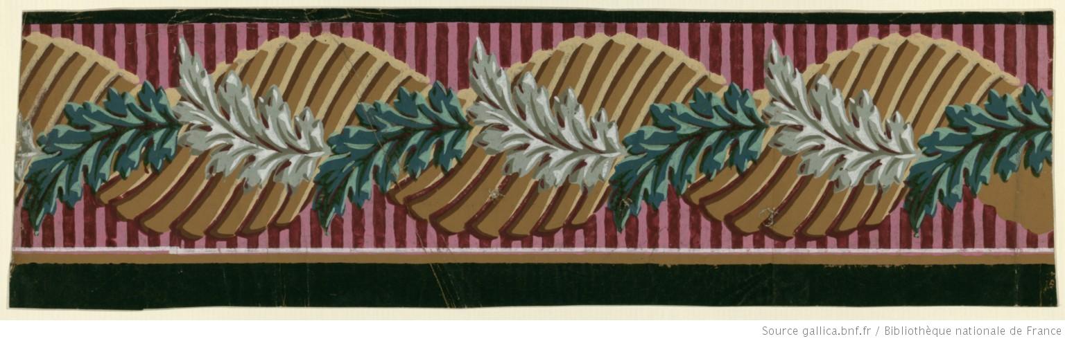 Bordure Papier Peint Gallica