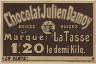 Image from Gallica about Chocolat