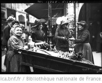 1er mai 1911, le muguet : [photographie de presse] / [Agence Rol]