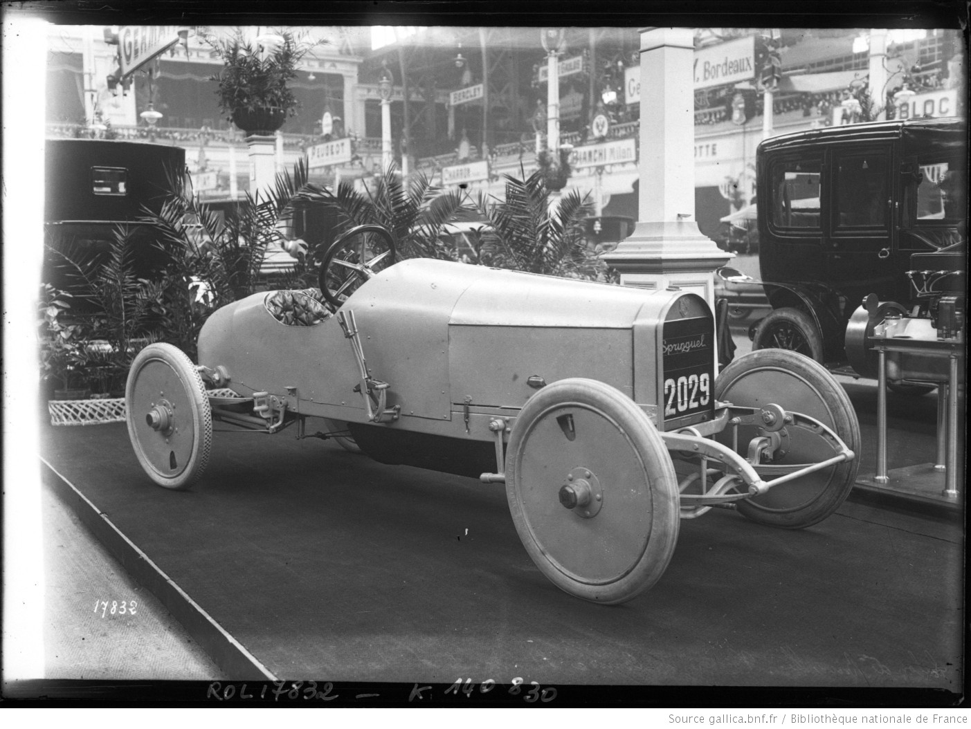 Salon de bruxelles 1912 voiture de course springuel for Salon de voiture