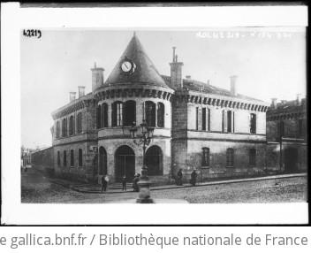 Bordeaux, conseil de guerre [batiment où se réfugia une partie du gouvernement français] : [photographie de presse] / [Agence Rol]