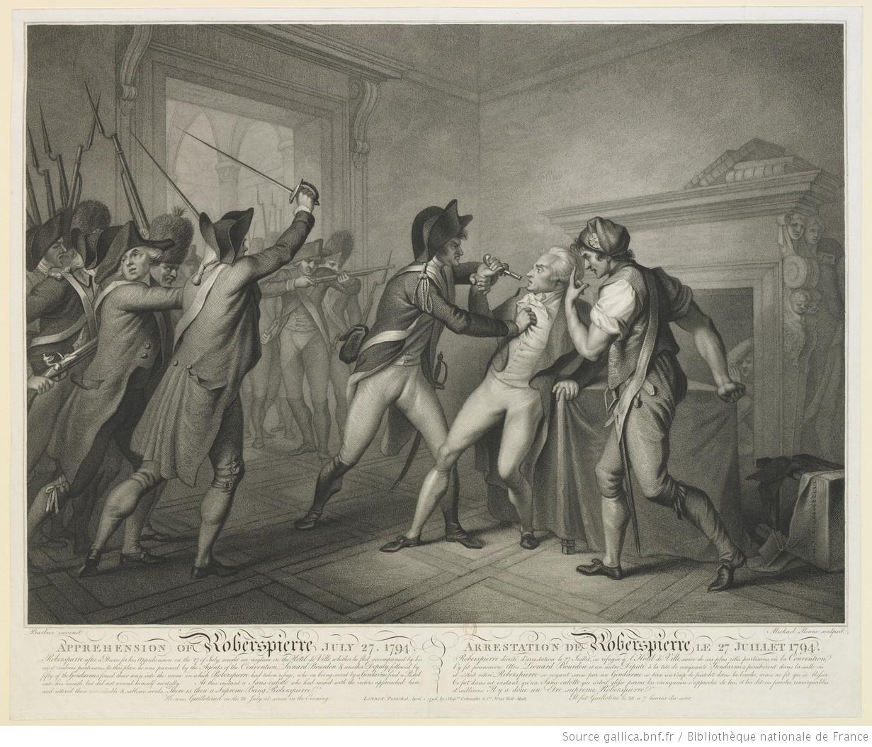 Arresto de Robespierre.
