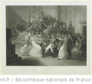 Bonaparte au conseil des cinq cents : [estampe]