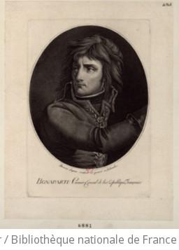 Bonaparte Premier Consul de la République Française : [estampe]