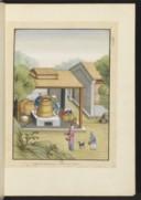 Art de faire le papier en Chine et ses différentes sortes pour l'impression, l'écriture, etc <br> XVIIe s.