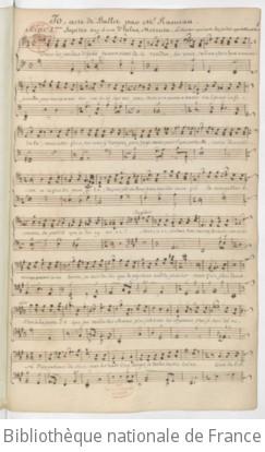 IO - Manuscrit 1771-1790