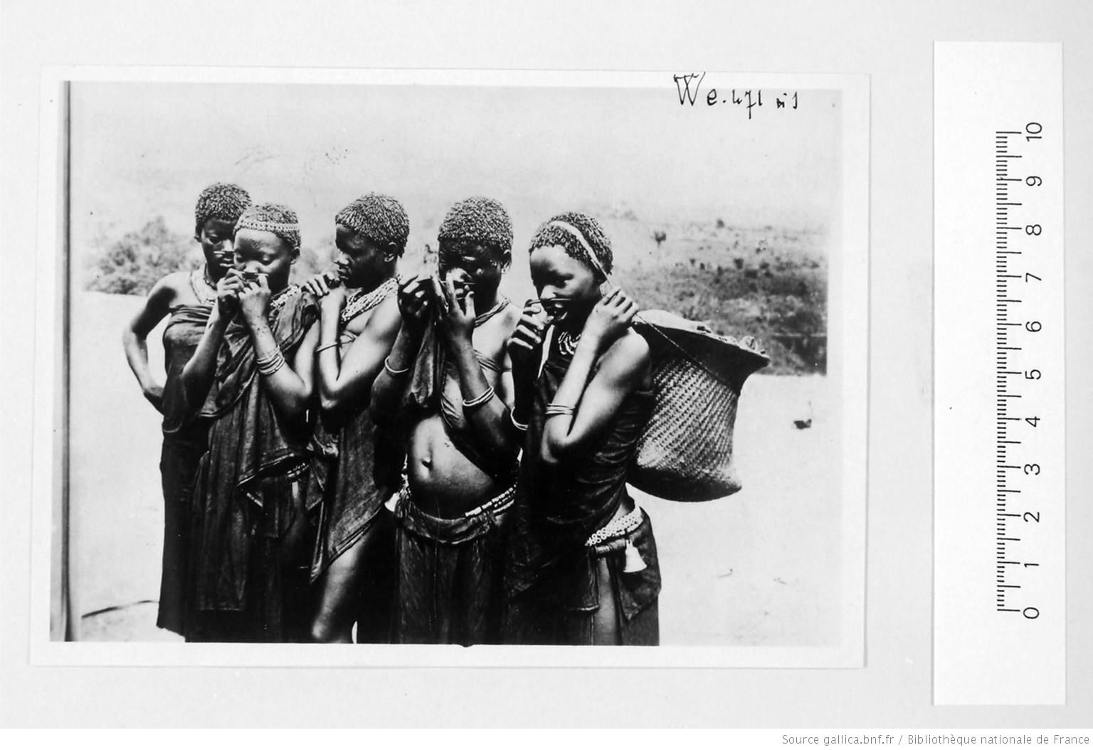 [39 phot. d'A.E.F. en 1924. Enregistré en 1936] 1924