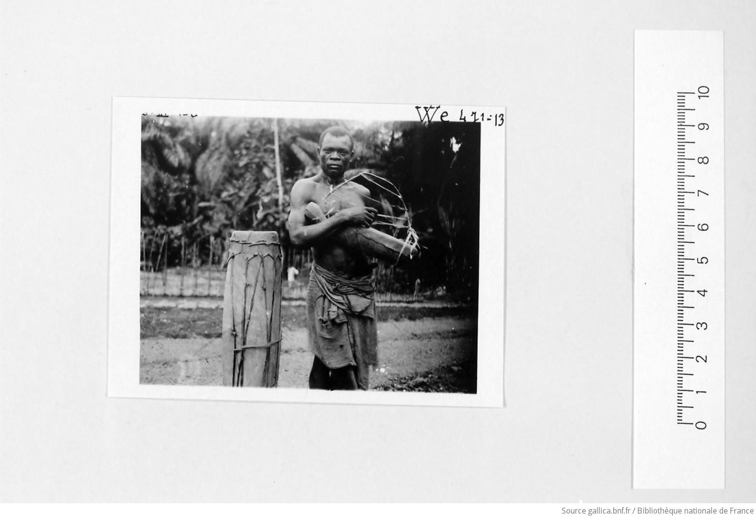 [39 phot. d'A.E.F. en 1924. Enregistré en 1936] - 13