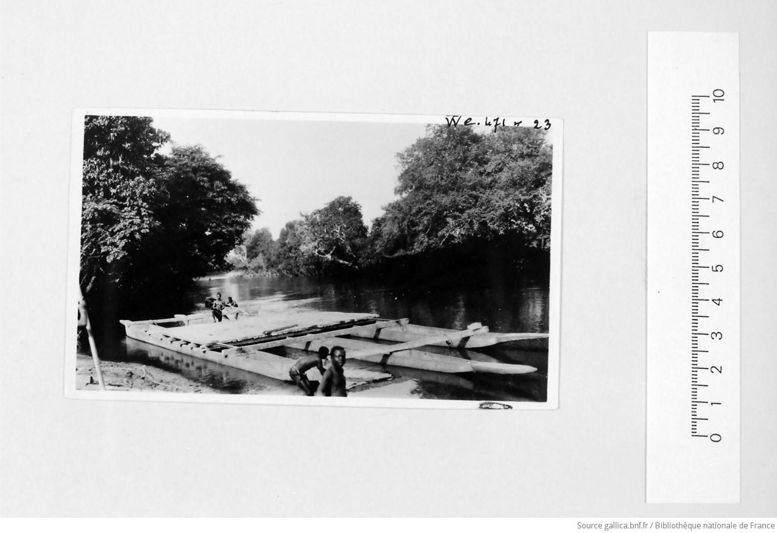 [39 phot. d'A.E.F. en 1924. Enregistré en 1936] - 23