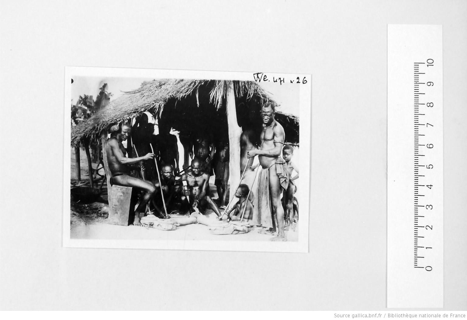[39 phot. d'A.E.F. en 1924. Enregistré en 1936] - 26