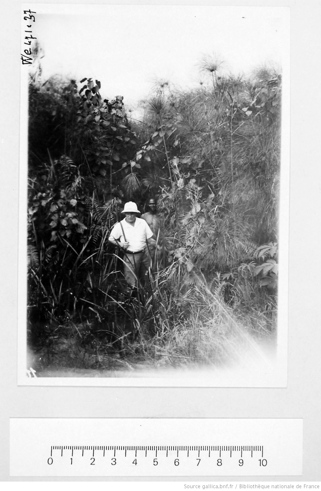 [39 phot. d'A.E.F. en 1924. Enregistré en 1936] - 35