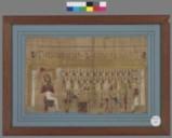 Thèbes  Papyrus Cadet. Livre des Morts de Padiamonnebnésouttaouy  332-30 av. JC