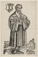 Illustration de la page Philippus Melanchthon (1497-1560) provenant du document numerisé de Gallica